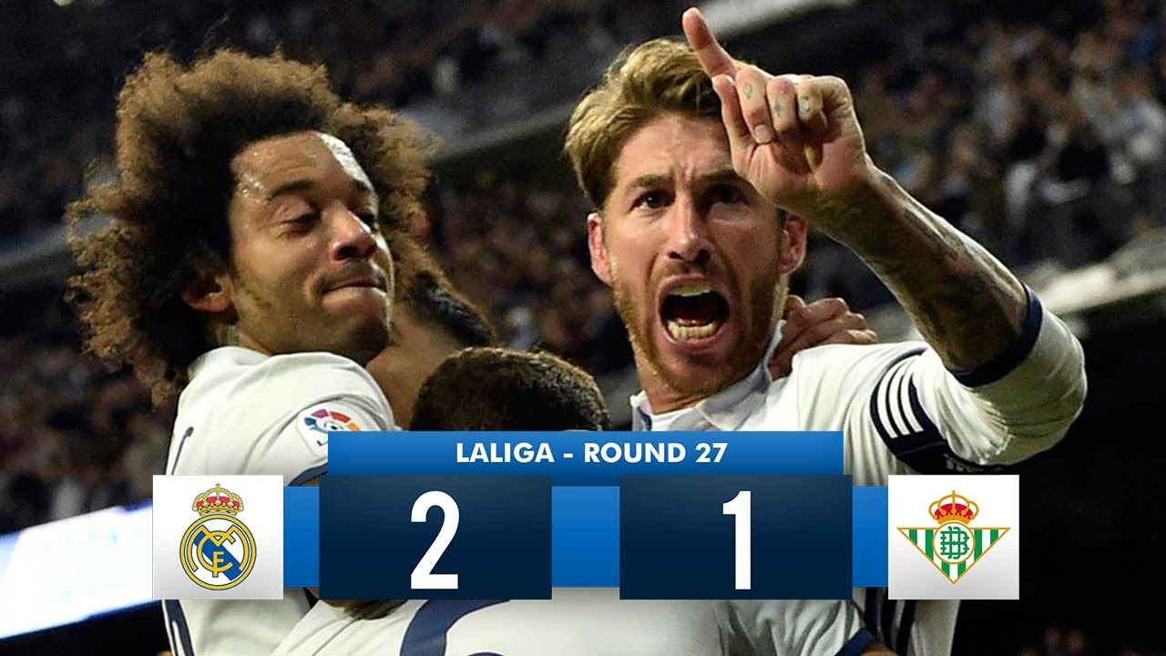 Download Real Madrid 2-1 Real Betis HD Full Match Highlights (12/03/17)