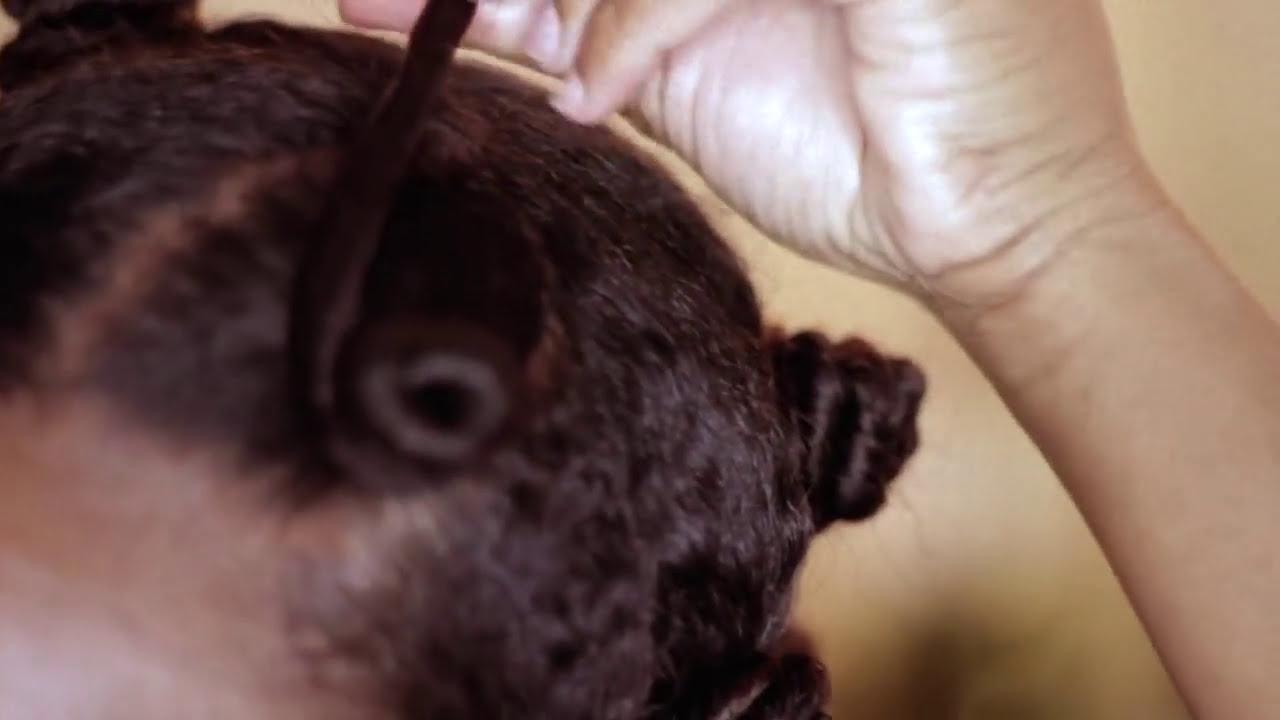 Natural Hair Styles Bantu Knots: Bantu Knot Out On Natural Hair