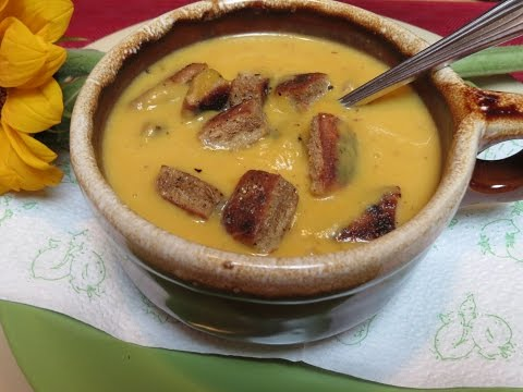 Chipotle Infused Squash Soup Recipe The Frugal Chef