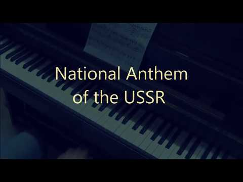 National Anthem of the USSR (piano cover)