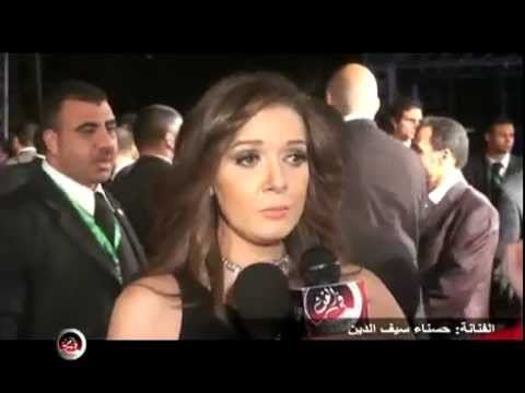 Interview FilFan.com With Hasna Seif El Din In Cairo International Festival 33