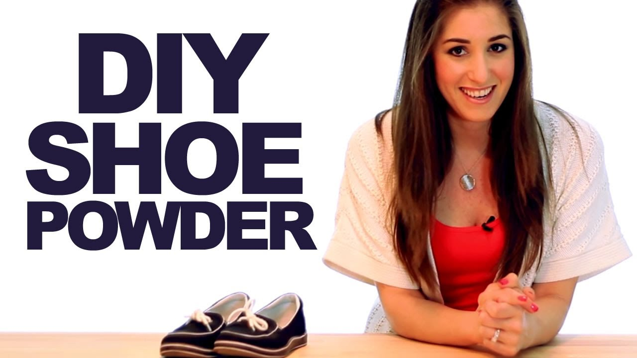 DIY Shoe Powder! Keep Your Shoes Smelling Fresh! Shoe & Footwear Cleaning Ideas! (Clean My Space