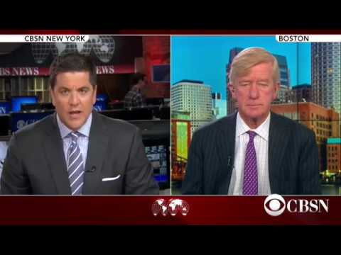 Bill Weld: Mitt Romney and I are quite close