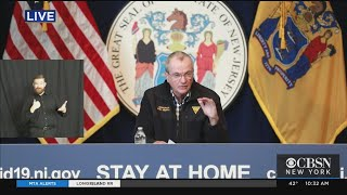 Coronavirus Update: Gov. Murphy Talks On COVID-19 Status In New Jersey