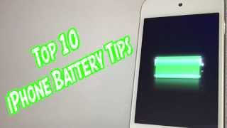 Top 10 iPhone Battery Tips For iPhone 4S, iPod Touch, iPad & iOS 5