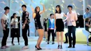 AFTER SCHOOL 애프터스쿨Uee Club dancing CF shoot
