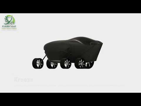 The KROOZE Robot | Autonomous Last Mile Delivery Vehicle
