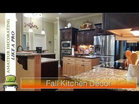 "NEW! My Fall Kitchen Decor  ""Keeping It Simple"""