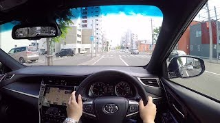 【Test Drive】2017 New TOYOTA HARRIER 2.0Turbo 4WD - POV City Drive