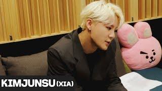 [김준수] 드라마 녹두꽃 OST '흩날린다(Blows)' 녹음실  스케치ㅣXIA
