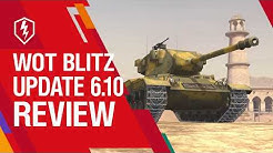 WoT Blitz. Update 6.10: Heavy Tanks Became Stronger!