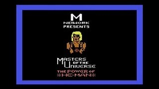 Masters of the Universe: The Power of He-Man (Atari 2600) Gameplay
