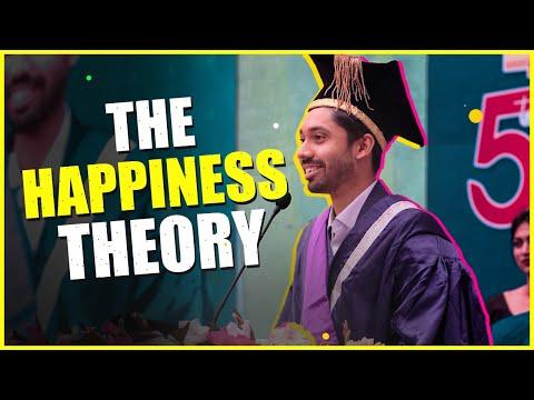 Full Convocation Speech | The Happiness Theory | NUB Graduation Speech 2020