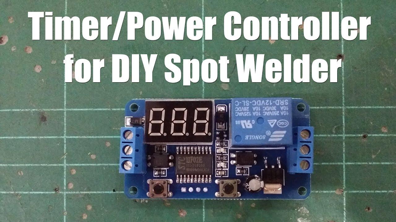 Led Display Digital Timer Delay Controller Banggood Youtube Count Down Circuit Using Pic Microcontroller