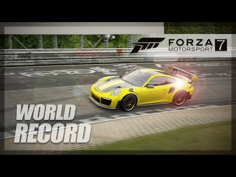 Forza Motorsport 7 - NURBURGRING WORLD RECORD ATTEMPT (GT2 RS)