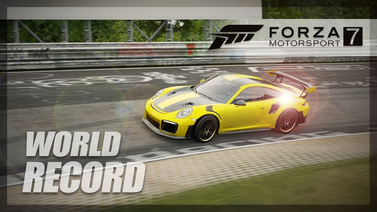 Forza Motorsport 7 Nurburgring World Record Attempt Gt2 Rs