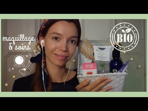 ASMR | Vendeuse dans un magasin de cosmétiques bio 🌱 Roleplay maquillage