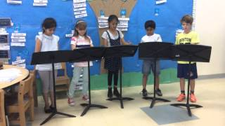 Deer and his Dear friends. 1 Readers Theatre