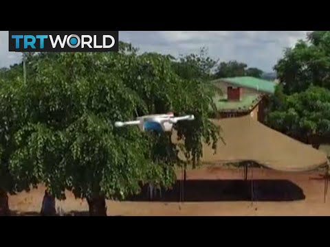 Malawi Drones: Health workers use drones to ease logistics