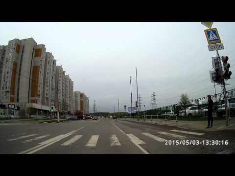 Как быстро НЕ сдать экзамен по вождению. Экзаменационный маршрут Северное Бутово.