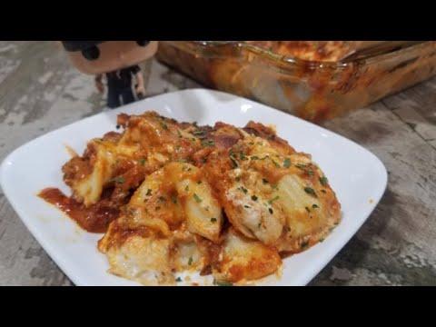 Ravioli Casserole Recipe, a simple #family dinner