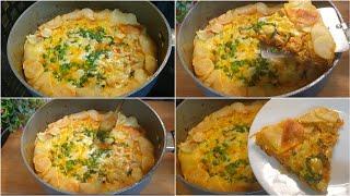 Unique And Easy Breakfast Recipe | Potato Minced Omelette