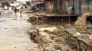 destruction in pindi gheb due to floods.july