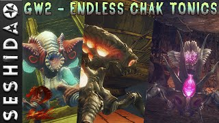 Guild Wars 2: Endless Chak Tonic Collection - Animations | Sound Effects