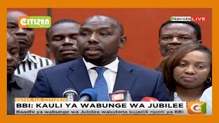 DP Ruto allies now say they will attend all BBI rallies countrywide