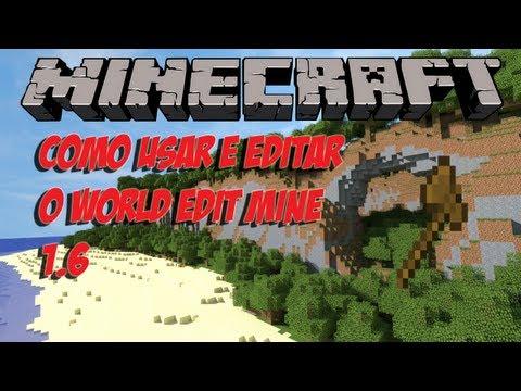 Tutorial como usar e instalar o WorldEdit minecraft 1.6