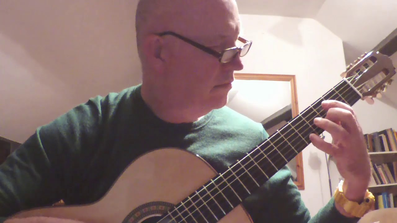 Williams, A  J  - Rainshine - Video - Classical Guitar