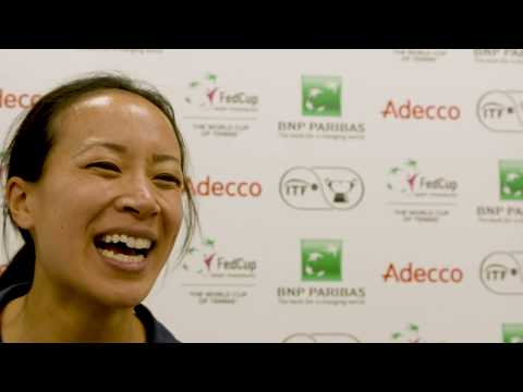 Anne Keothavong after GB seal epic 3-1 victory over Kazakhstan