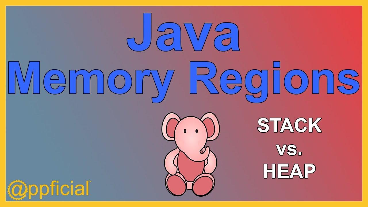 Java Memory Regions Heap Stack Code And Static Memory Diagram