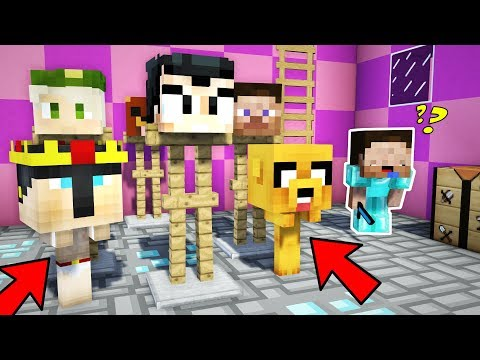 NOS ESCONDEMOS ENTRE ESTATUAS Y EL NOOB NO NOS VE!! 😂 MINECRAFT MURDER MYSTERY