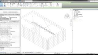 Добавление арматуры в семейства «U-kon» в Autodesk Revit