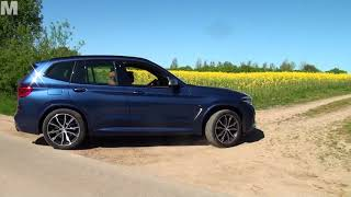 BMW X3 M 40 i  Modell 2018 Test deutsch