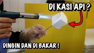 20 RIBU BELI JAJANAN ANEH UNIK DINGIN DI BAKAR ??? - HOW TO MAKE MARSMELO #597