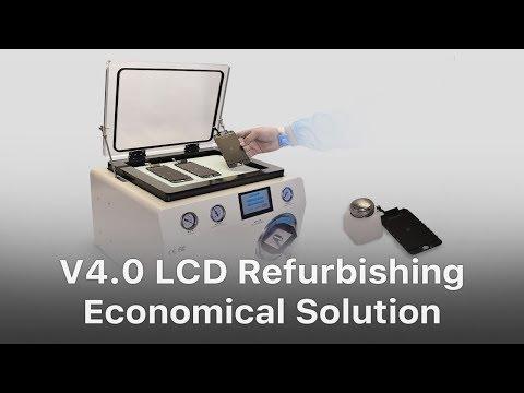 Economical Solution - REWA Mobile Phone Broken LCD Screen Refurbishing Solution V4.0