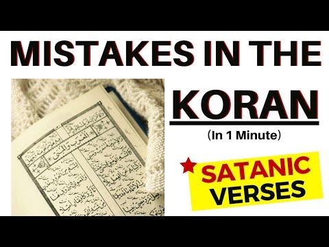 Satanic Verses in the Koran (in 1 minute)