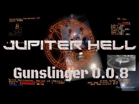 Jupiter Hell 0.8.8   Gunslinger Marine Run.