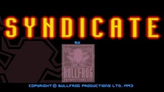 Syndicate gameplay (PC Game, 1993)