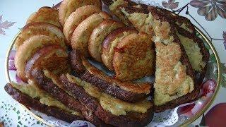 Предлагаю рецепт вкусных  и быстрых в приготовлении горячих бутербродов.