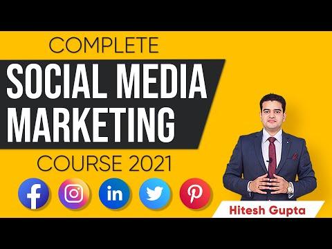 Social Media Marketing Course 2021 | Social Media Marketing Tutorial for Beginners in Hindi | Hitesh