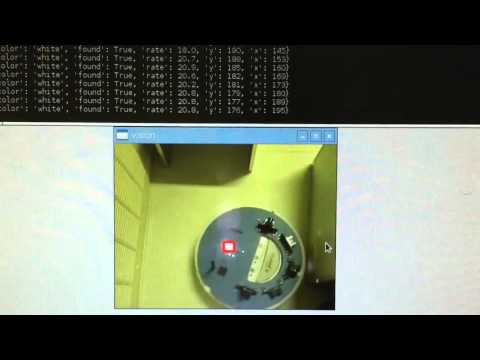 Computer Vision test using a Raspberry Pi 3