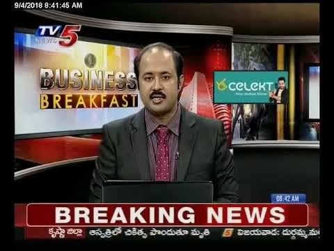 4th Sep 2018 TV5 News Business Breakfast