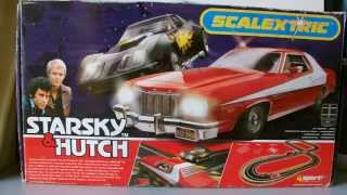 Scalextric Set Review: Starsky and Hutch  (Second hand)