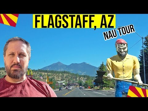 Flagstaff, AZ Driving Tour & Northern Arizona University   Phoenix Escapes   Cities In Arizona