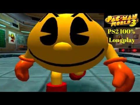 Pac-Man World 3 PS2 100% Longplay