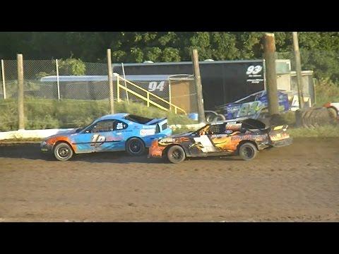 Mini Stock Heat One | Genesee Speedway | 9-3-16
