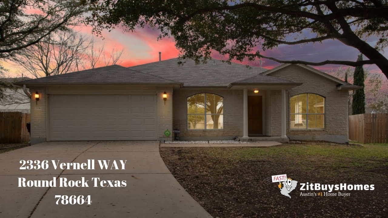 2336 Vernell WAY Round Rock TX | 512-825-2525